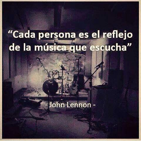Cada persona es el reflejo de la música que escucha