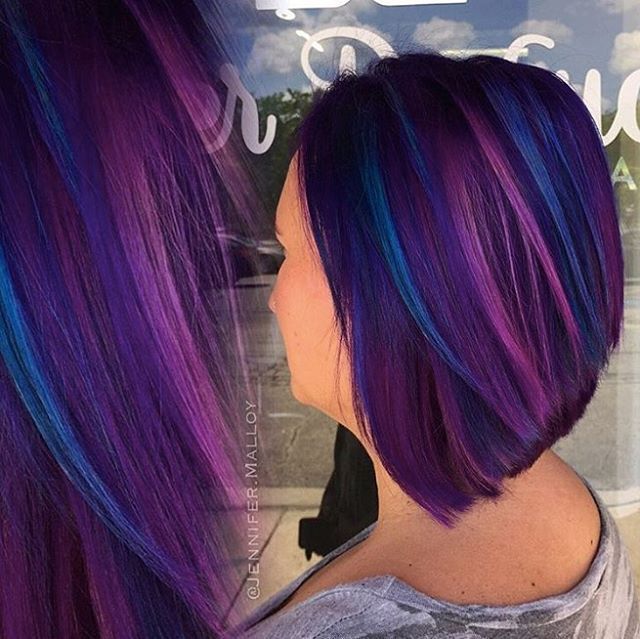 Berry rainbow color