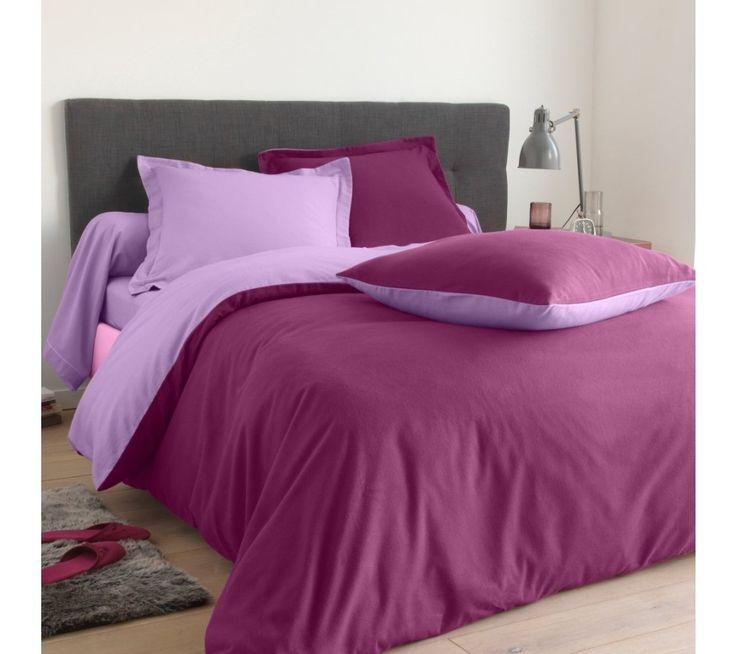 Dvojfarebná posteľná bielizeň, flanel zn. Colombine | blancheporte.sk #blancheporte #blancheporteSK #blancheporte_sk #bedlinen