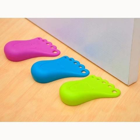 2 Piece Foot Shape Door Jams by Baby in Motion