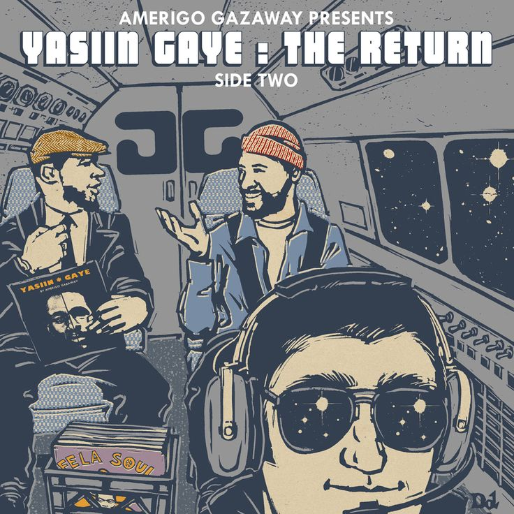 Yasiin Gaye (Yasiin Bey x Marvin Gaye) – Side 2: The Return Mixtape [Listen/Download]