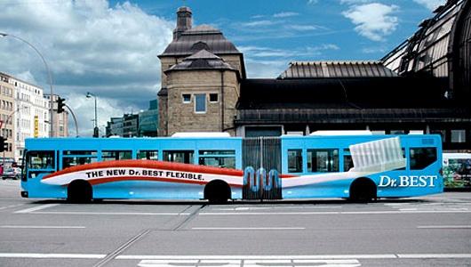 ads on bus