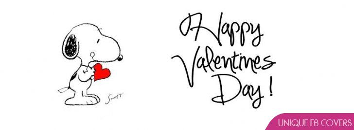 valentine clipart for facebook | Snoopy Valentines Day Facebook Covers Facebook Covers