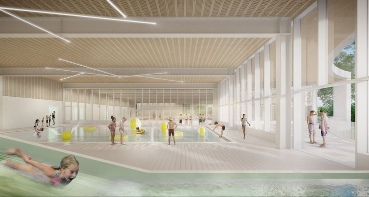Gallery of Historic Site in Belgium to Receive New Pool and Fitness Center - 4