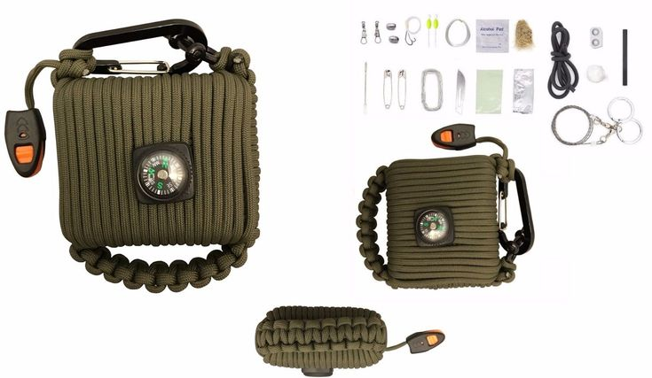 Military Survival Kit Outdoor Tactical Hiking Camping Gear Multifunction Tool