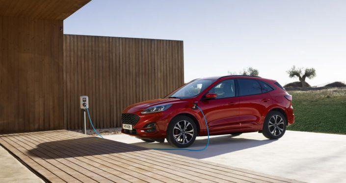 Nuevo Kuga Hibrido De Ford Elegante Y Eficiente Avatar Energia