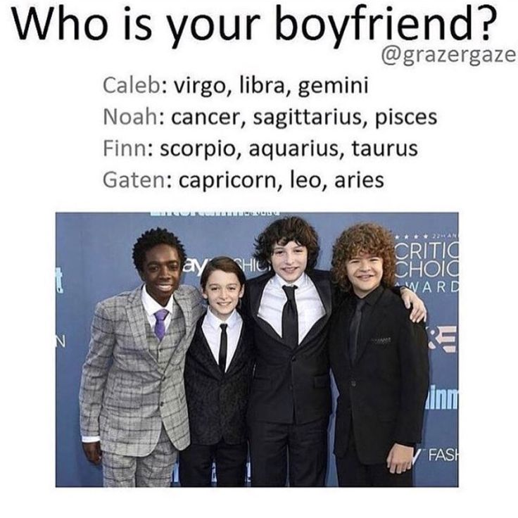 Who is your boyfriend? i got Finn