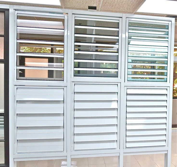 45 best louver windows images on pinterest shades for Most common window size