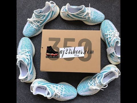 "First look!Yeezy Boost 350 V2 ""Teal Blue"" Confirmed Release! HD review f..."