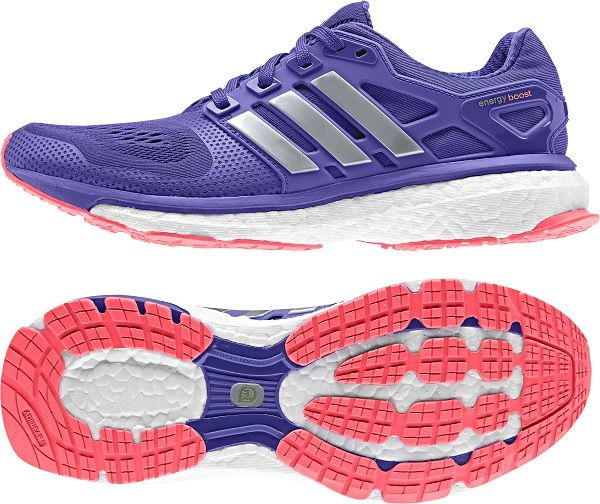 Adidas Energy Boost ESM Shoes, RRP $200 (Colourway Night Flash/ Silver Met/ Flash Red)