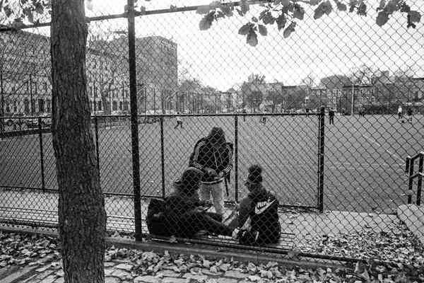 Andre Wagner captured the brief window when kids run New York.
