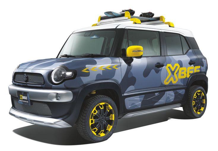 スイフトスポーツの参考出品車がめっちゃカッコいい! スズキ東京オートサロン出品車発表