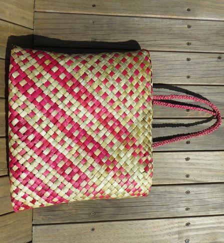 Flax Weaving - Kete whakairo                                                                                                                                                                                 More