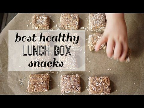 Best School Lunch Snack Recipes for a Healthy Lunchbox!