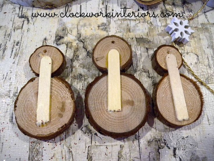 634 best images about woodburning ornaments on pinterest for Log craft ideas