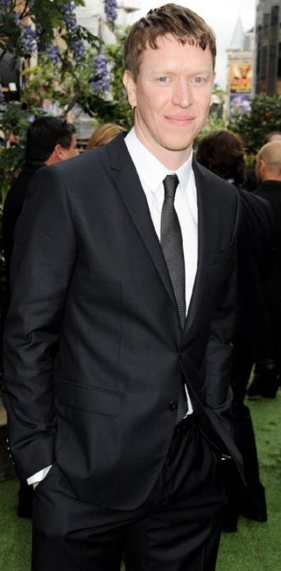 """""""Sam Spruell's real strawberry blonde hair was cut & styled into Finn's distinctively unpleasant pageboy haircut for the duration of filming. It was bleached, cut, and his hairline was shaved back under the fringe. He describes it as """"fine for the film, but horrible for civilian life."""" We have to agree!"""" ~ SWATH Official Facebook"""