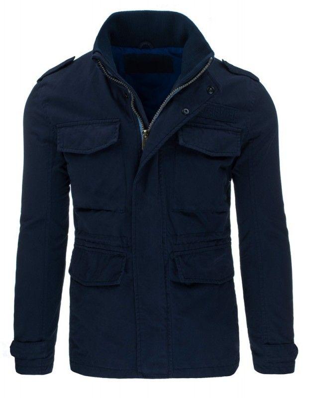 Pánská jarní bunda - Giovanni, modrá