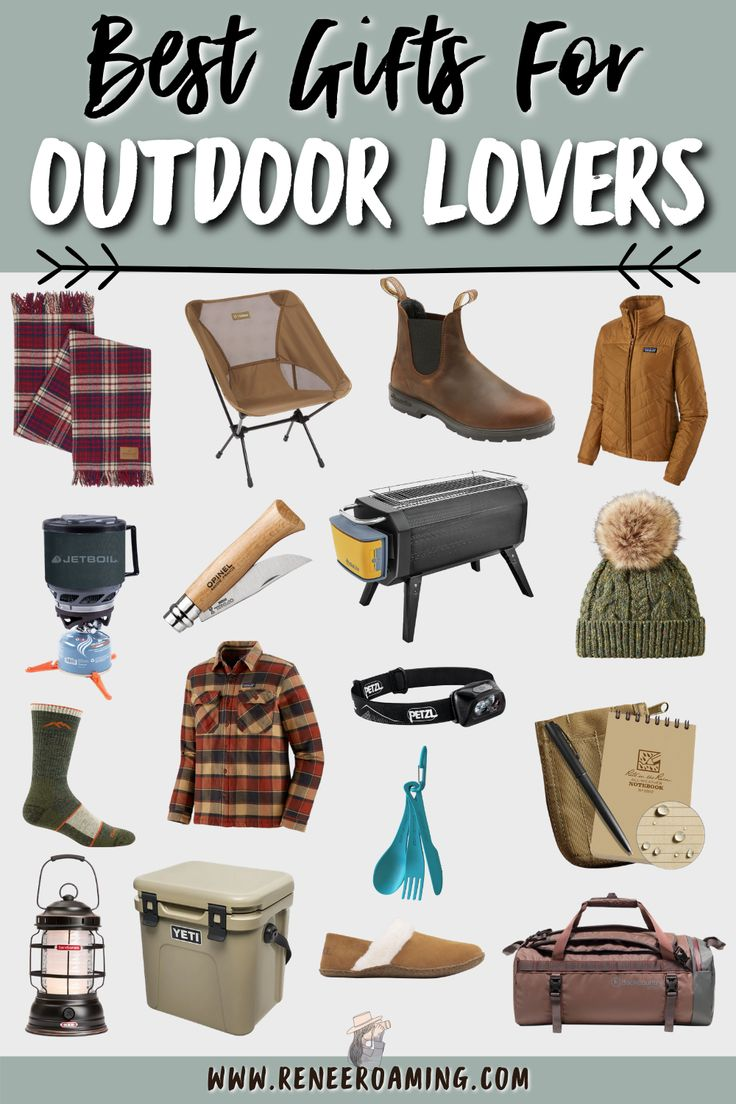Best gifts for outdoor lovers 2020 gifts for hikers