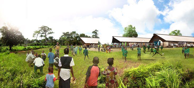 School in Sierra Leone / Foster   Partners