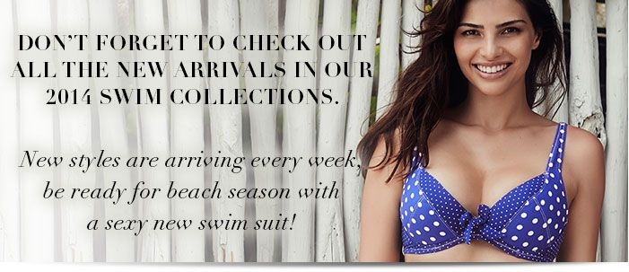 New a sexy new suit?  All new arrivals for 2104