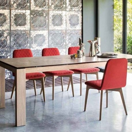Calligaris Sami Dining Chair FREE UK DELIVERY Comfortable And Elegant The Upholstered Quilted