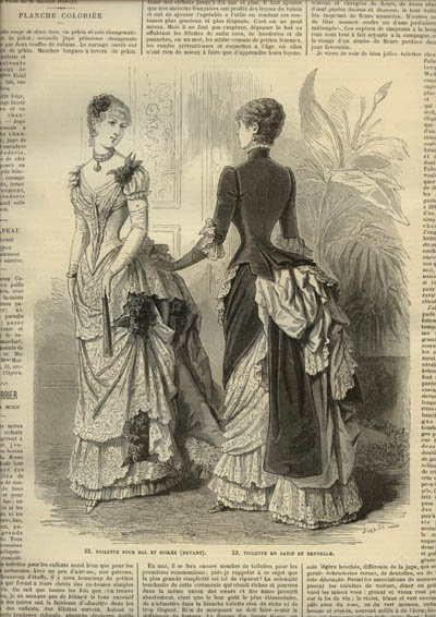 LA MODE ILLUSTREE  ... dated April 27, 1884