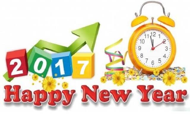 Gelukkige nuwe jaar 2017