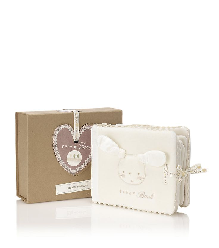 Natures Purest - Pure Love Baby Book at harrods.com