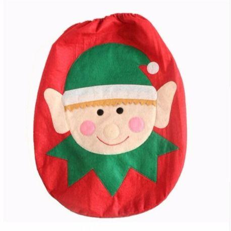 WC Deckel Abdeckung Weihnachtsmann-Zwerg WC-Sitzbezug – supermarkt