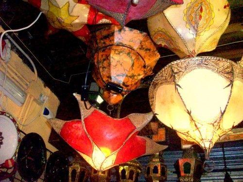Lamps in Granada