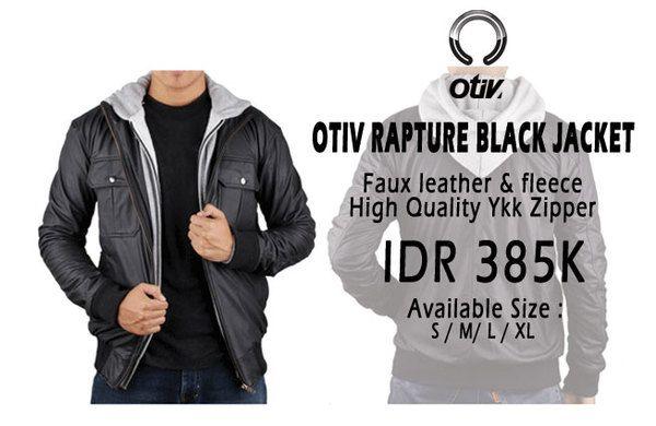 Otiv Rapture Black Jaket