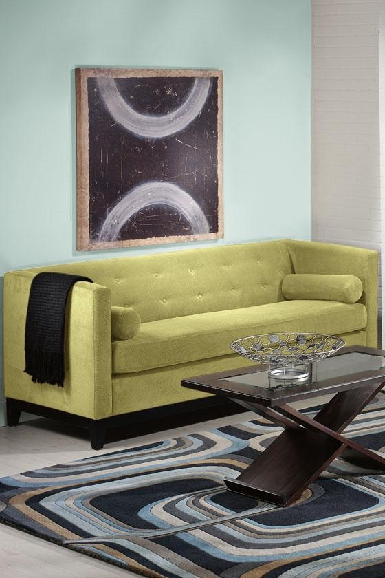 lobby. $350 free shipping. Boxer Tufted Sofa - Sofas - Living Room Furniture - Furniture   HomeDecorators.com