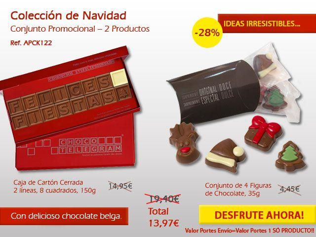 ¿Está buscando una manera original para sorprender a tu familia en esta Navidad? El mySweets4U tiene ideas muy dulces :) http://www.mysweets4u.com/es/?o=2,9,235,0,0,0