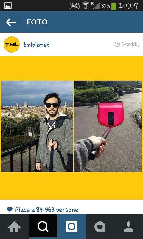 Braccio da selfie