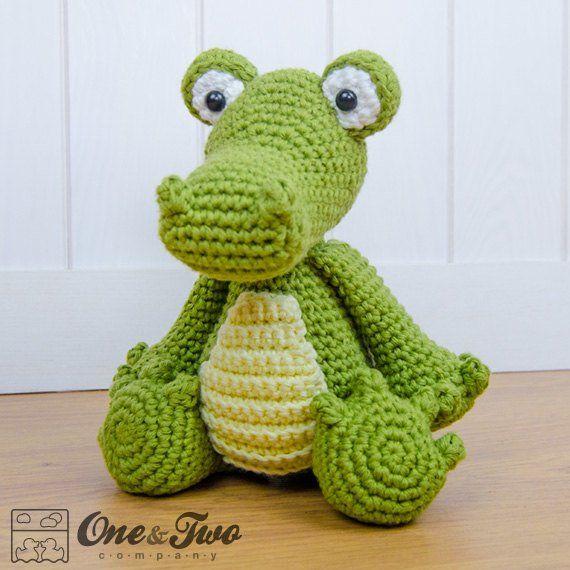 Crocodile Amigurumi - PDF Crochet Pattern - Instant Download ...