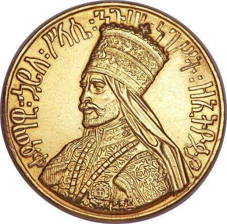 1930 – Haile Selassie is crowned emperor of Ethiopia. | Ethiopia, Ethiopia: Haile Selassie gold Coronation Medal EE1923 (1930 ...