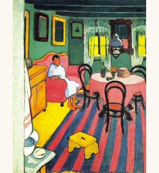 'Interior', 1908 - Sándor Ziffer (1880–1962)