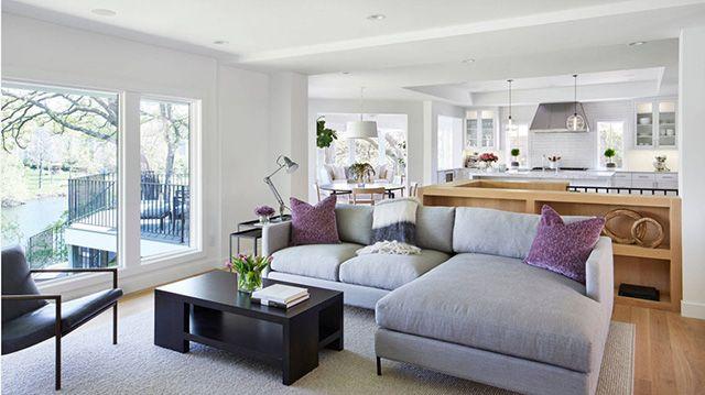 Como Combinar Un Sofa Gris Colores Para Pared Y Cojines Sofas Grises Hogar Muebles Grises