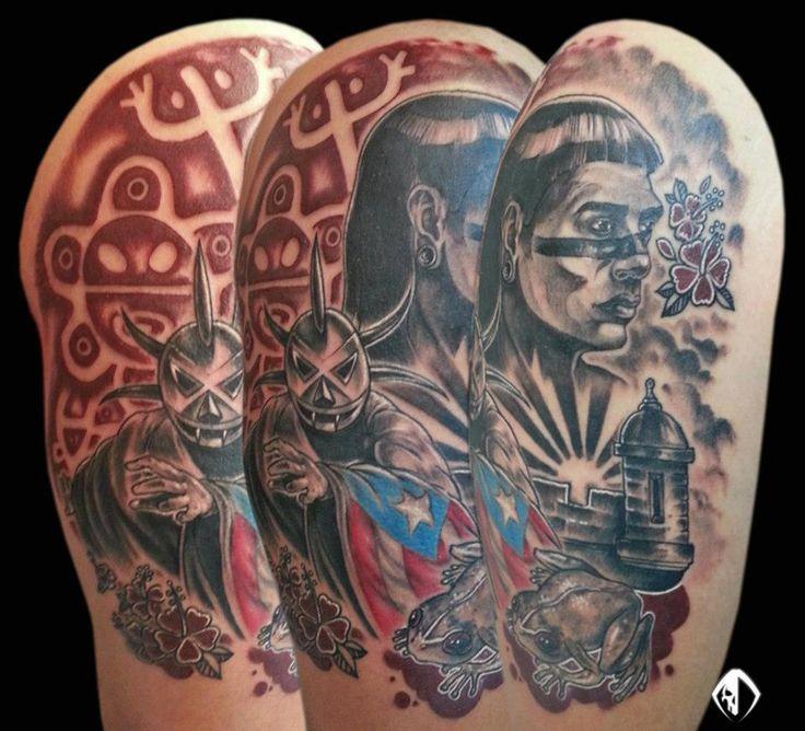 Taino Tattoo For Woman: Tattoos, Taino Tattoos, Tribal