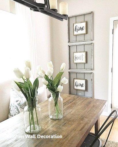 Modern Kitchen Wall Decor Ideas Fixer Upper
