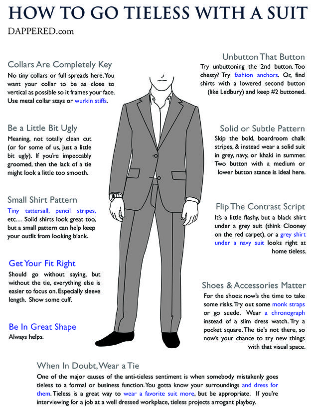 98c4f9e8b85 How To Wear a Suit Without a Tie | Man Style | Suits, Suit without tie,  Mens clothing styles