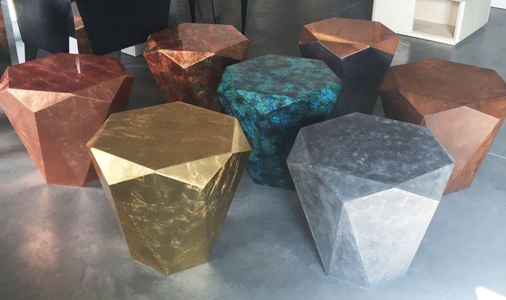 stealth coffetables by Jan Grad diamonds <3 jangrad.com