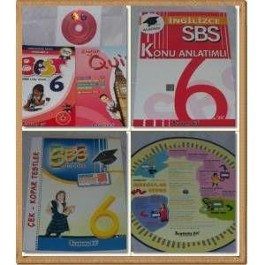 6. Sınıf Dersleri Sbs İngilizce Eğitim Seti GittiGidiyor'da 63774861