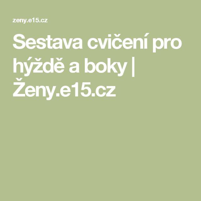 Sestava cvičení pro hýždě a boky   Ženy.e15.cz