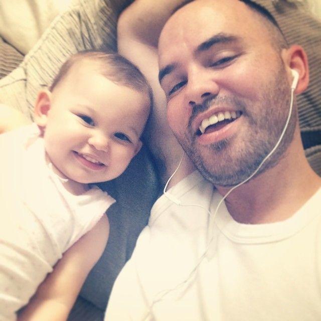 #loveislove | Jonathan Saccone-Joly and daughter Emilia