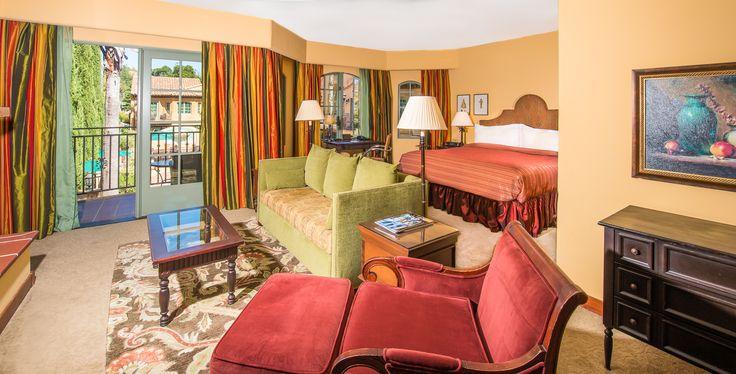 A Grand King Suite at Hotel Los Gatos.