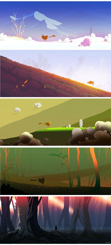time by yao yao, via Behance