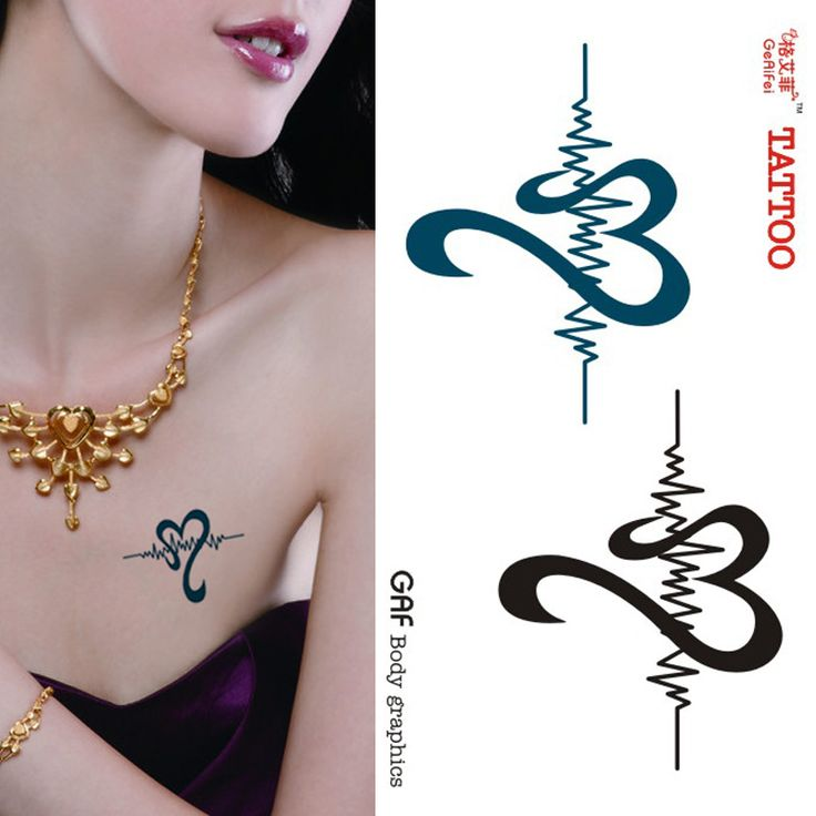Find More Information about Free Shipping Tattoo stickers heartbeat love personality fashion waterproof,High Quality sticker wall,China tattoo accessories Suppliers, Cheap sticker keyboard from Ebay-Alibaba on Aliexpress.com