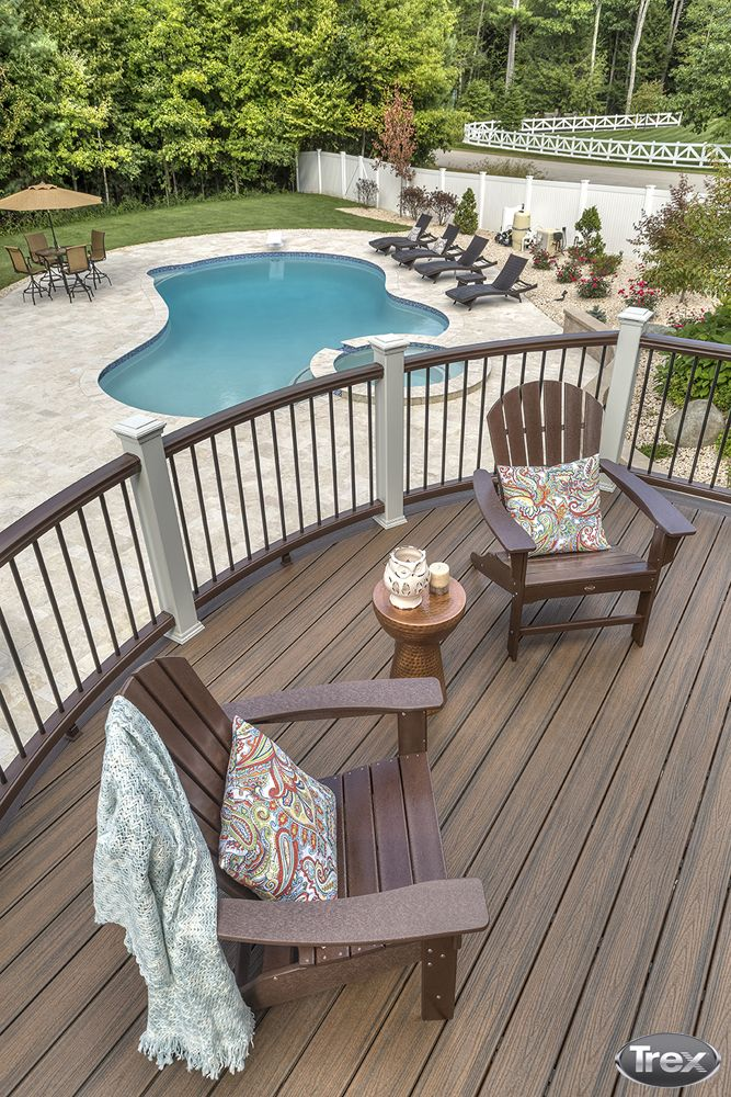 1000+ images about Trex Inspiration and Ideas on Pinterest ... on Backyard Trex Deck Ideas id=71369