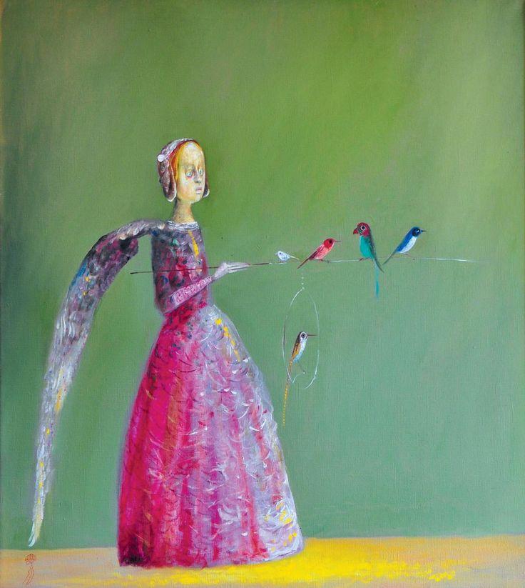 Ştefan Câlţia - Fata cu aripa/ The girl with the wing